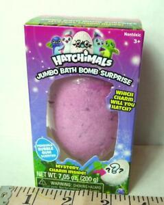 Hatchimals Bath Charm Jumbo Bomb Egg Surprise Bubble Gum