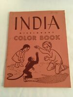 Vintage India Missionary Color Book 1954, Augsburg Publishing House