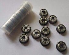 10pcs F623ZZ Flanged Bearings For 3D Printer reprap kossel i3 delta gt2 3x10x4mm
