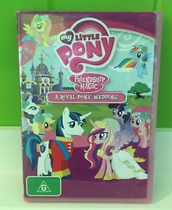 My Little Pony - Friendship Is Magic - A Royal Pony Wedding   DVD Region 4   VGC