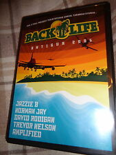 DVD Soul BACK ll LIFE ANTIGUA 2005 ANNUAL CARIBBEAN EXCURSION DJ Dance Festival