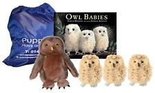 Owl Babies Storybook Puppet Toy Set Sack World Book Day Separation Anxiety