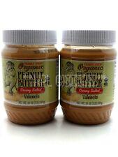 Trader Joe's Organic Peanut Butter Creamy Salted Valencia NEW 2-Pack 32 OZ