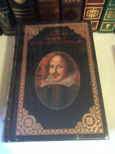 The Complete Works of William Shakespeare - leather-bound - ships in a box - New