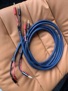 Audioquest Indigo Blue Speaker Cable 2 X 2, 5 M Long