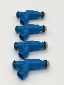 Bosch Upgrade Fuel Injector Set NEW X 4 fits Wrangler TJ 2.4L 2003-2006