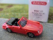WIKING 016203 Porsche 911 SC Cabriolet - rot