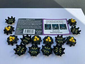 Softspikes Pulsar Q-Lok Cleats (Soft Golf Spikes) x 14 cleats