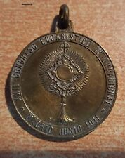Madrid Junio de 1911. Medalla Bronce XXII Congreso Eucarístico Internacional.