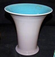 Antique Rookwood Pottery Vase Grey Blue Interior Porcelain 2240