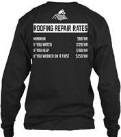 Roofing Repair Rates Gildan Long Sleeve Tee T-Shirt