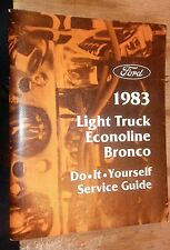 1983 FORD TRUCK F150 250 350 DO IT YOURSELF GUIDE MANUAL 2WD 4WD GAS DIESEL