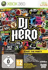 Jeu pour XBox 360 XBox Live   DJ Hero  Neuf  Sous Blister