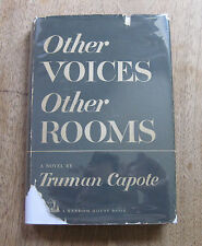 OTHER VOICES OTHER ROOMS by Truman Capote  - 1st/1st HCDJ 1948  - $2.75