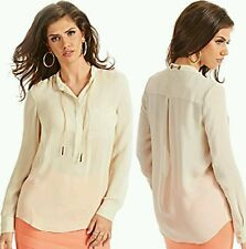 GUESS BY MARCIANO TAYLOR CHAIN BLOUSE