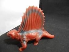RARE Vintage 1950s JH MILLER Wax Plastic Dinosaur LARGE Size DIMETRODON