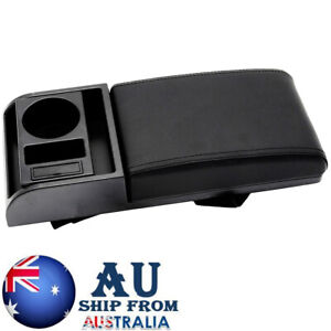 Organizer For Arm Rest Cover Interior Box Support Cushion With USB Sliding Pad