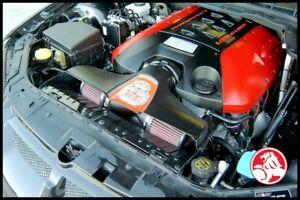 HOLDEN VE V8 OTR - SS INDUCTIONS GROWLER COLD AIR INDUCTION KIT (BLACK)