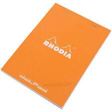 Rhodia A5 Dot Pad Orange Staplebound #16 dotPad Matrix Grid Drawing Sketch Book
