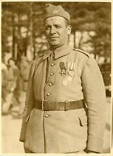 Un soldat de l'armée polonaise, novembre 1939 Vintage silver print Tira