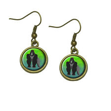 Gorilla Dangle Dangling Drop Earrings