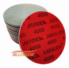 150mm MIRKA Abralon Wet or Dry Polishing Foam Sanding Discs // 180 - 4000 GRIT