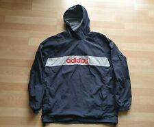 Retro Adidas Zipless Hooded Jacket size 38/40