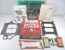 NOS Carter WCFB Zip-Kit 1959 Chevrolet 348 V8 4 Barrel Carb Chevy Carburetor Kit