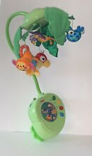 Fisher Price Rainforest Peek-A-Boo Leaves Musical Crib Mobile Works Perfect!