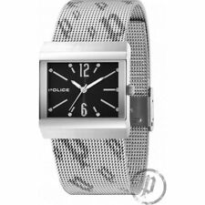 Police Virtue Black Dial Mesh Strap Ladies Watch 10813BS-02MA