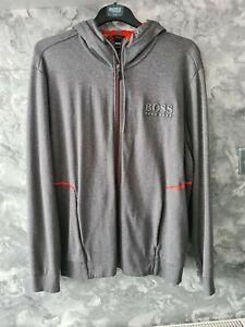 Hugo Boss men's Tracksuit jacket- Grey -REFLECTIVE