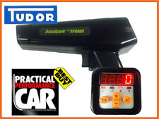 AccuSpark BLACK Professional Timing Light, With Digital Advance and Rev Counter