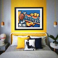 Paints : Acrylic Paint, Pop Art, Candy art, fun art, nestle art, butterfinger