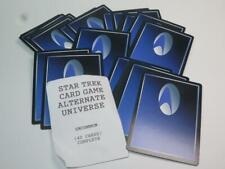 STAR TREK Alternate Universe Card Game 40 UNCOMMON CARDS Unused