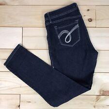 Bongo Women's Jeans Jeggings Straight Skinny Sz 9 Dark Wash