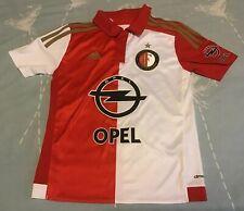 Feyenoord Home Football Shirt 2015/16. YOUTH Size 9 - 10