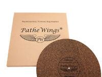 Plattentellerauflage Matte Record Mat 4 mm Kork & Naturkautschuk Plattenspieler
