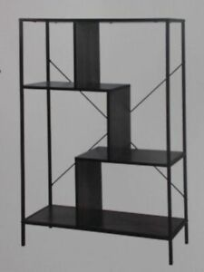 NEW Hudson Home BR19108J Soho Collection 4 Tier Bookshelf $149