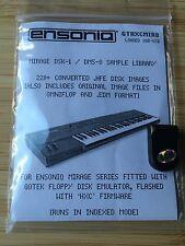 Ensoniq Mirage - Loaded USB key for HXC Gotek Floppy emulator 220+ disk img DSK