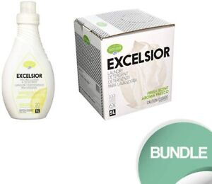 Excelsior HE Washing Machine Cleaner 5 Liter Laundry Detergent with Stain