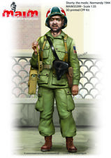 1/35 scale 3D printed model – Shorty – WW2 US medic Normandy 1944