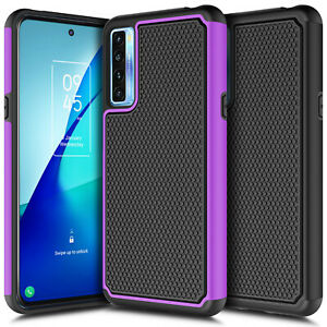For TCL 20S / TCL 20 Pro 5G Phone Case Shockproof Rugged Hard Bumper Cover