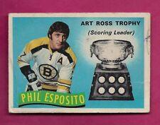 1971-72 OPC # 247 BRUINS PHIL ESPOSITO TROPHY FAIR CARD (INV# A6538)