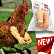 Muscle Chicken Arms Gag Gift Chicken Arms for Chicken to wear Muscle Arms