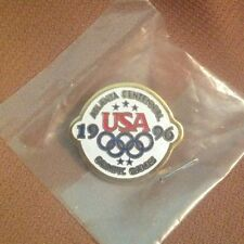 ATLANTA OLYMPIC GAMES  1996 USA pin NEW in package