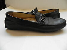 Cole Haan~Black Leather Loafers Flats Driving Moccasins sz 7 B