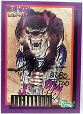 Neal Adams Deathmatch 2000 Signed Card by Neal Adams Autographed Card #2680