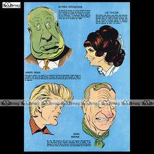HITCHCOCK, JAMES DEAN, JOHN WAYNE par TIBET (No Ric Hochet Chick Bill) 1971 #661