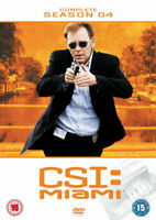 Csi Miami Temporada 4 DVD Nuevo DVD (MP1035D)