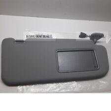 Genuine OEM Sun Visor Right Gray 852202B511J4 for 06-09 HYUNDAI Santa Fe